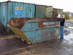 10 yard skip hire in Poole
