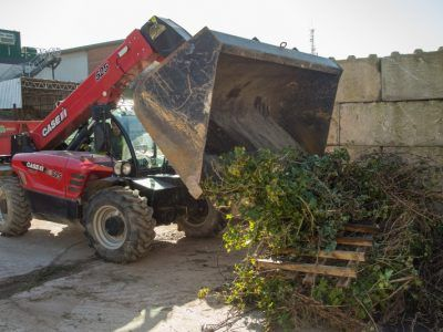 Garden waste management