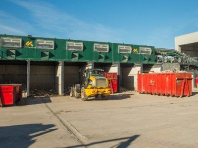 Recycling centre, Dorset